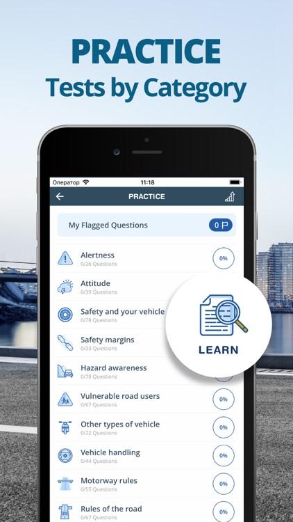 Car Driving Theory Test 2021 screenshot-4