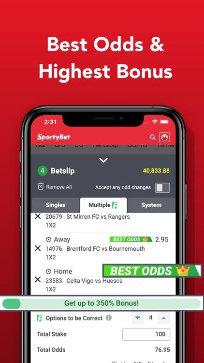 SportyBet - Sports Betting App screenshot-3