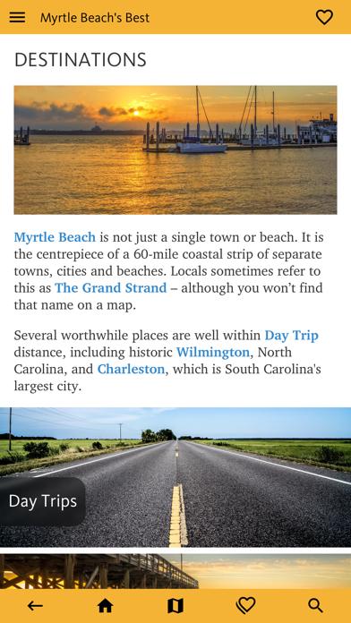 Myrtle Beach's Best Travel App screenshot 5