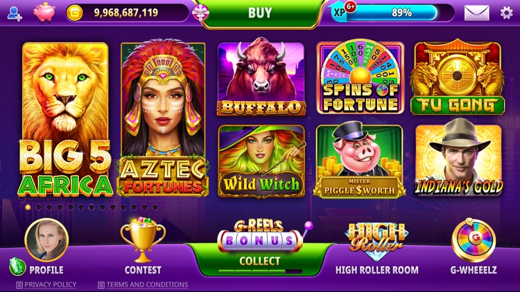 Gambino Slots Wheel of Fortune screenshot-8