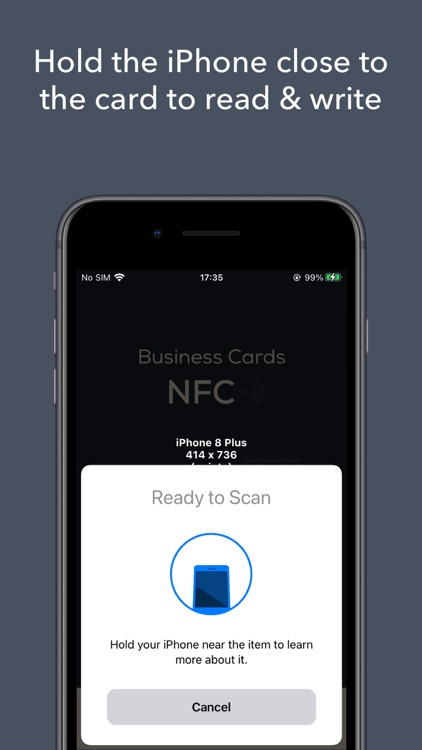 NFC Business Card - Read Write