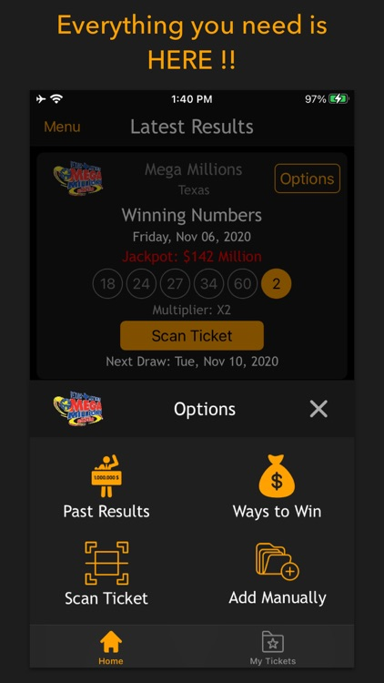 Lottery results-Ticket scanner screenshot-8