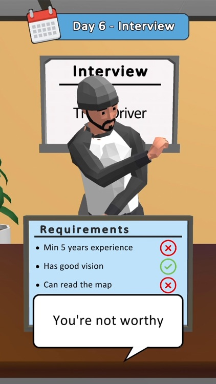 Hiring Job 3D screenshot-1