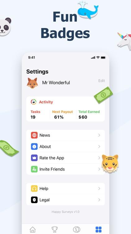 Happy Surveys – Easy Cash App screenshot-4