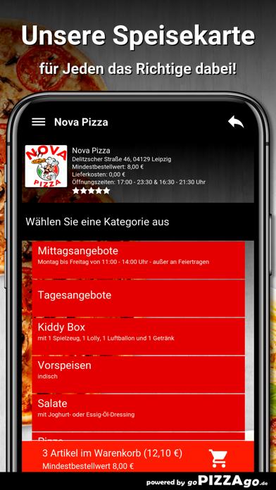 Nova Pizza Leipzig screenshot 4