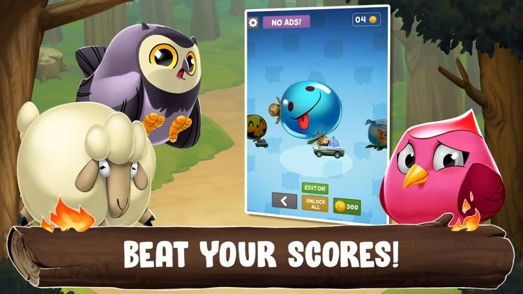 Zoo Road: Animal Bounce Racing screenshot-3