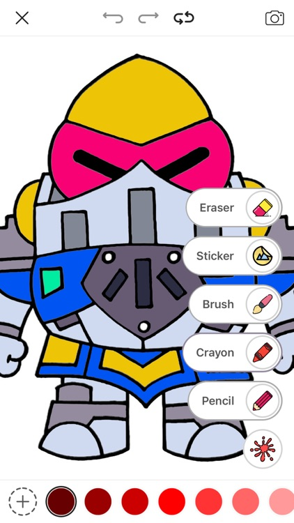 Starz - Brawl Stars Coloring screenshot-6