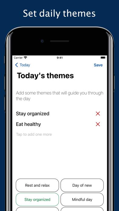 Daily Me: Themes, Tasks, Diary screenshot 4