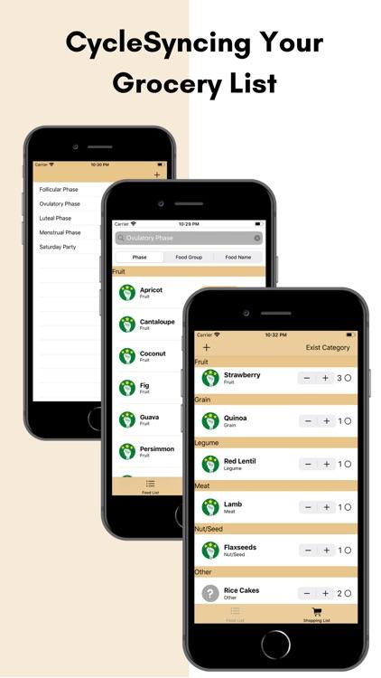 UCYCLESYNC: Grocery List screenshot-4