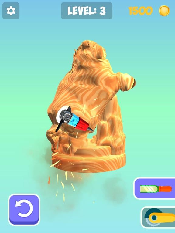 Idle Wood Carving 3D screenshot 10