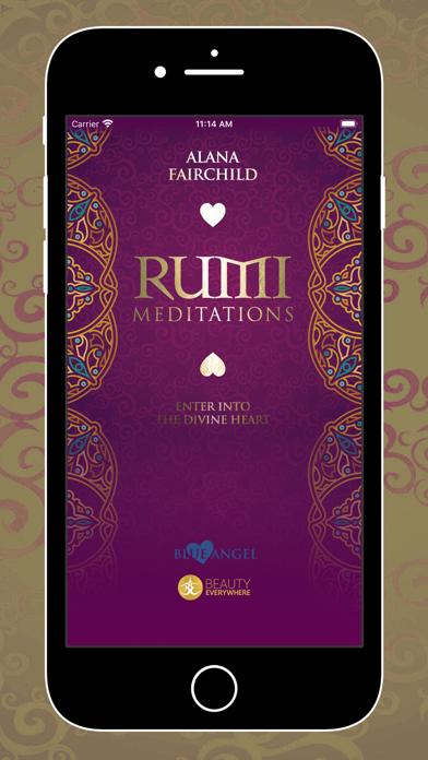 Screen Shot Rumi Meditations 0