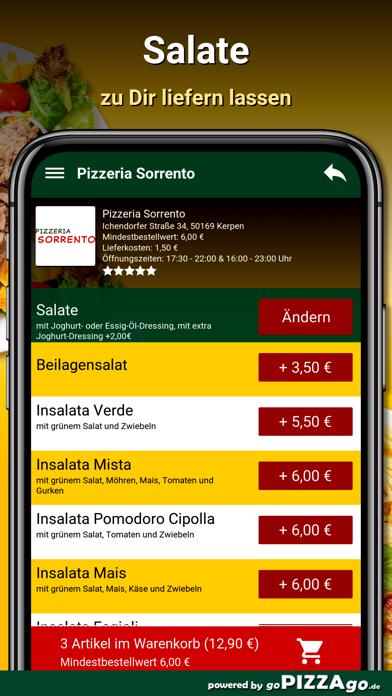Pizzeria Sorrento Kerpen screenshot 5