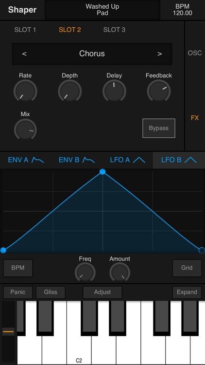 Shaper - Synthesizer screenshot-5