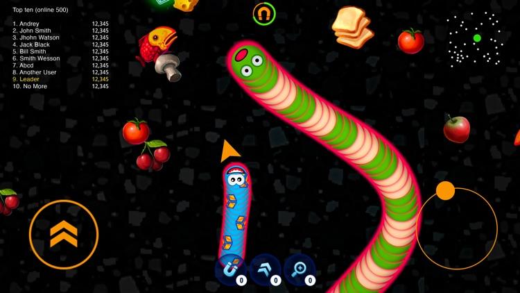 WormsZone.io - Hungry Snake screenshot-4