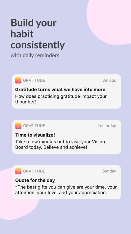 Gratitude: Diary, Vision Board screenshot-7