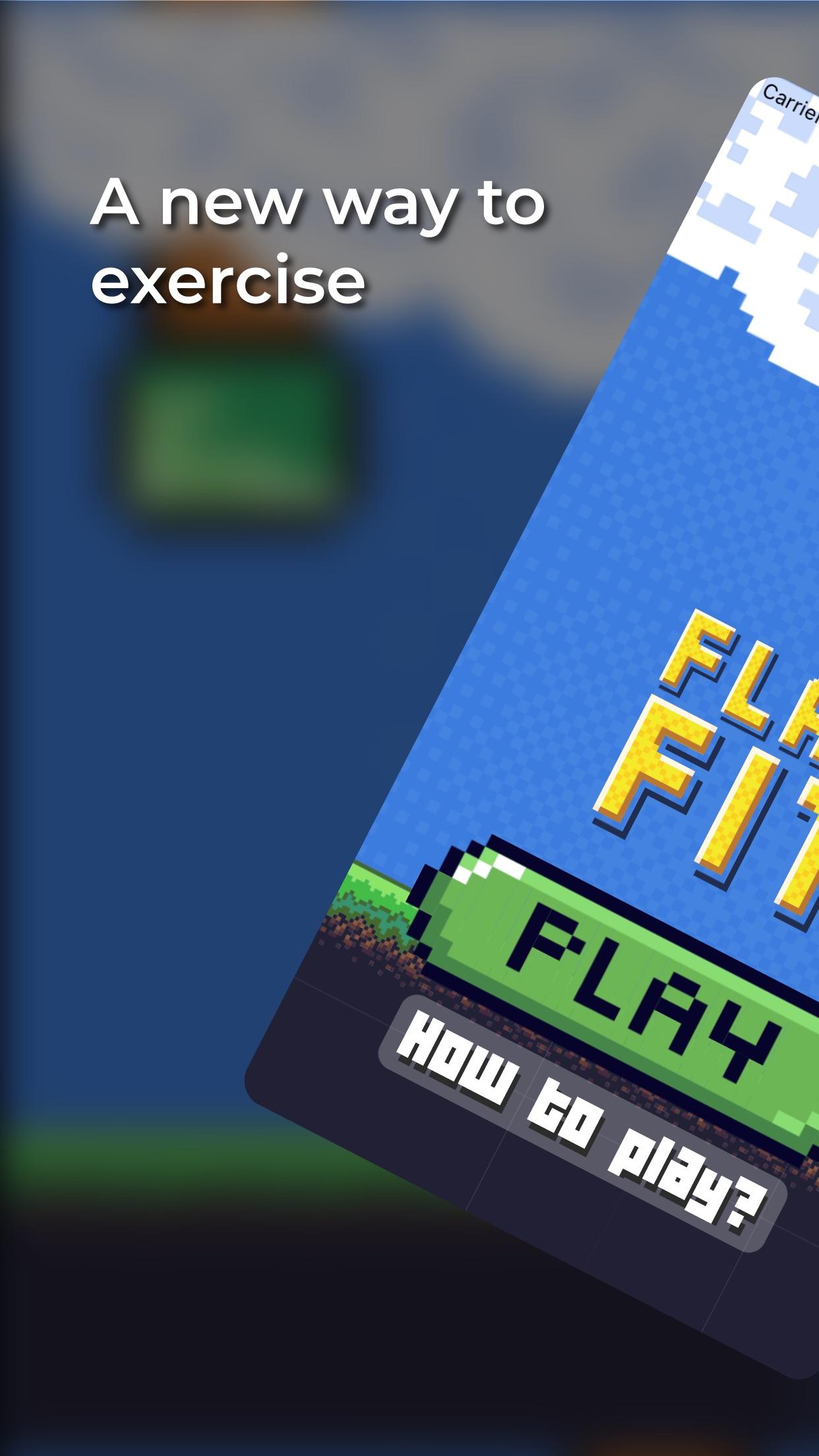 Screenshot do app Flap Fit