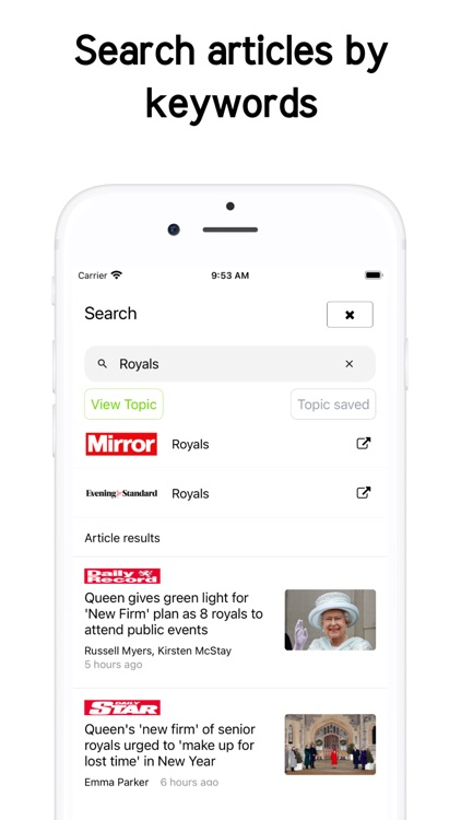 Newsstand UK - Latest UK News screenshot-4