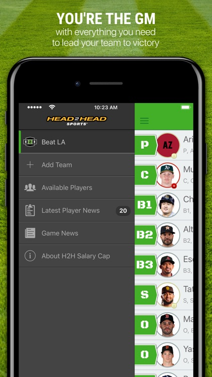 H2H Fantasy Baseball screenshot-3