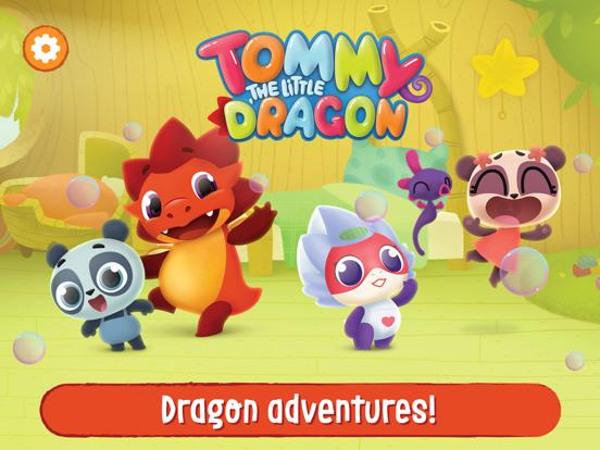 Ipad Screen Shot Tommy The Dragon Magic Worlds! 0