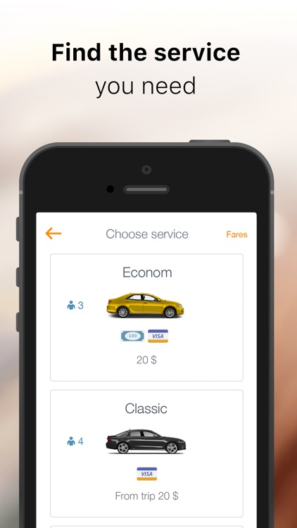 KAR: book easy taxi for travel
