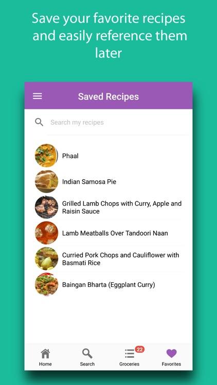 Indian Recipes & Ingredients screenshot-5