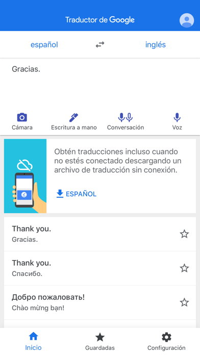 Descargar Traductor de Google para Android