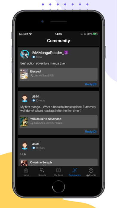 Manga Reader - Best Manga App Screenshot