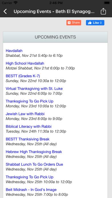 Beth El Synagogue ~ Omaha screenshot 4