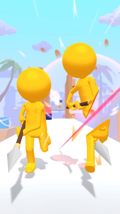 Samurai Slash - Run & Slice screenshot 2