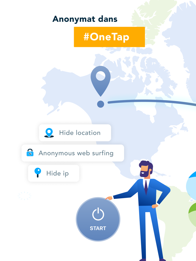 ‎VPN Unlimited avec DNS Shield Capture d'écran