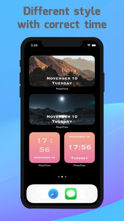 PhotoTime - Your style widgets screenshot-3