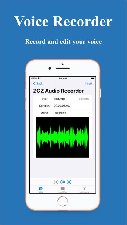ZGZ Audio Editor screenshot-6