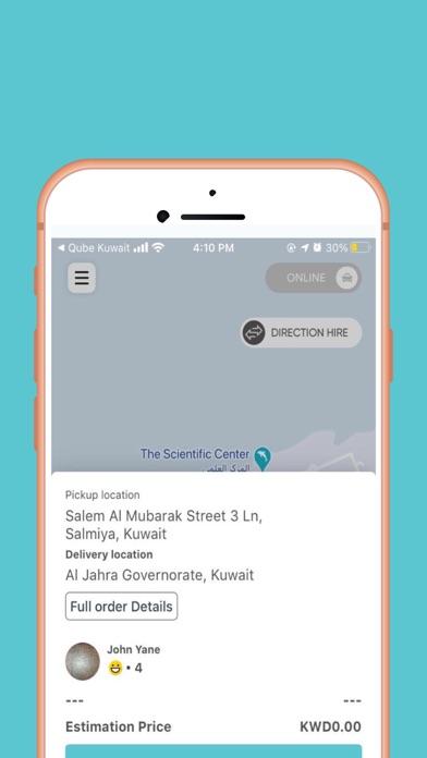 Qube Kuwait - Driver屏幕截图2