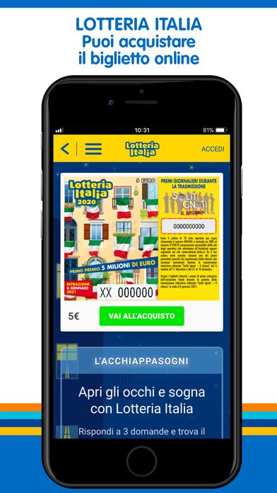 Screenshot of My Lotteries: Verifica Vincite3