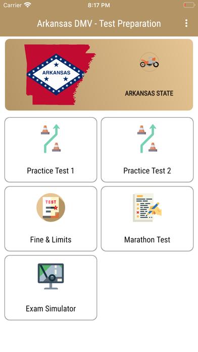 Arkansas DMV Test Preparation screenshot 1