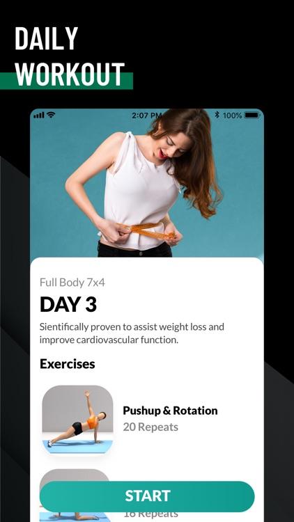 7 Minute Workout - Fitness App screenshot-5