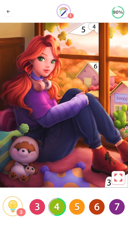 Coloring Fun : Color by Number screenshot-9