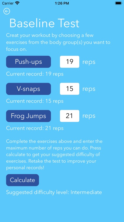 Home Fitness screenshot-3