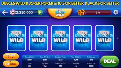 Video Poker Casino Games screenshot #5
