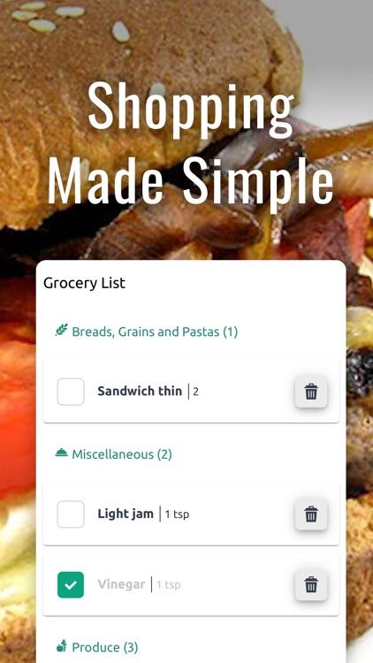 Skinny Kitchen Meal Plan App screenshot-4