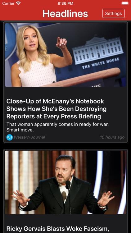 Conservative News screenshot-3