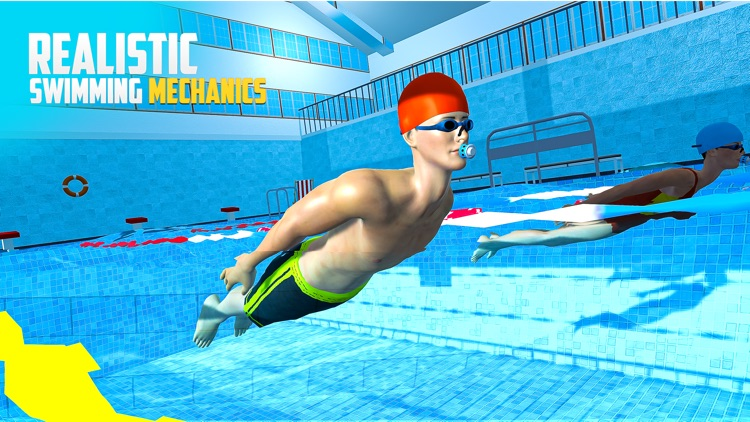 Water Swimming Pool Stunt Race