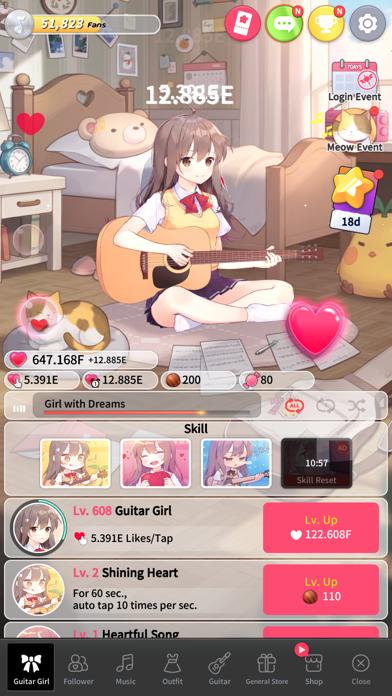 Guitar Girl:Relaxing MusicGame screenshot 3