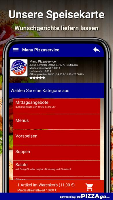 Manu Pizza Reutlingen screenshot 4