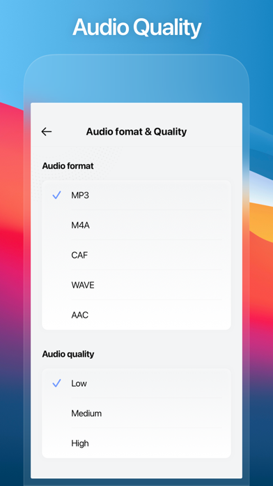 cancel Audio Recorder - Audio Editor subscription image 2