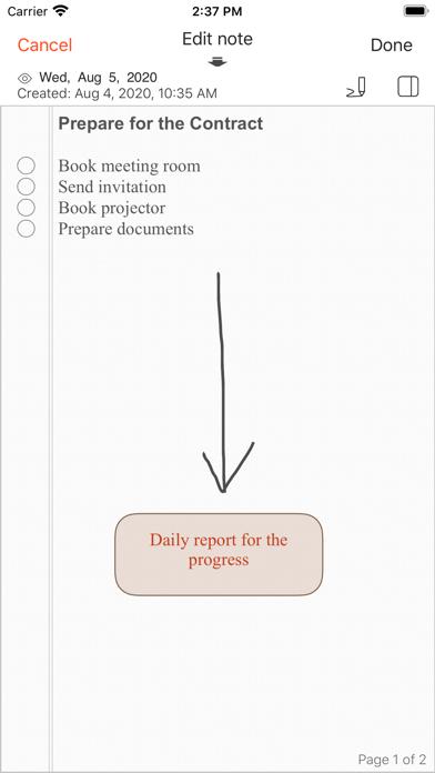 VNotes -每日笔记者屏幕截图4