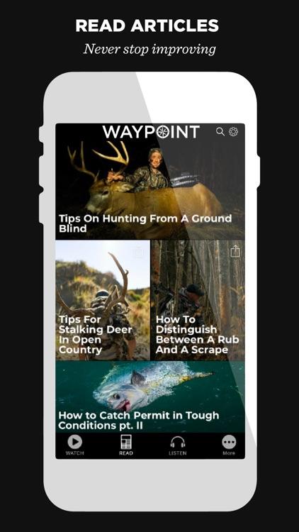 WAYPOINT TV: Fish,Hunt,Outdoor screenshot-4