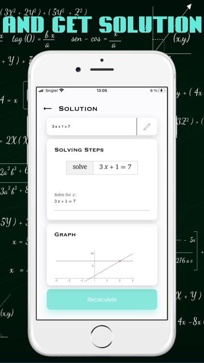 Math App Solver Scanner +