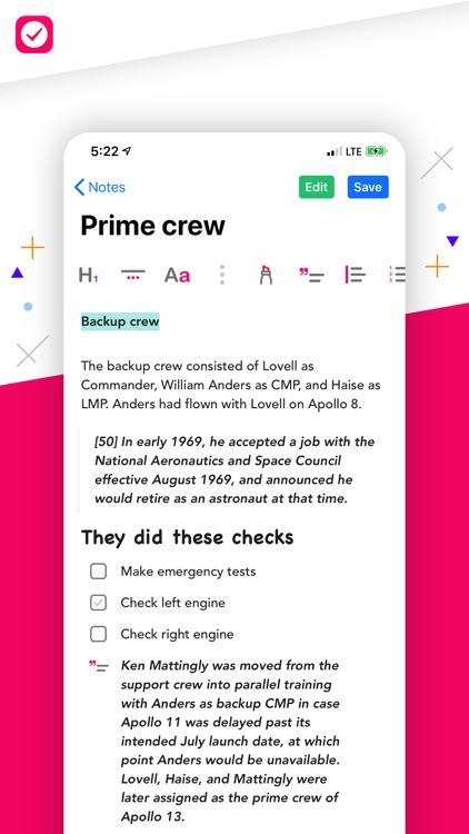 Nural - Tasks, Notes, Messages screenshot-6