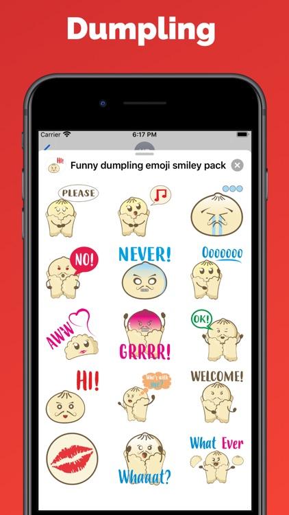 Dumpling emoji & stickers